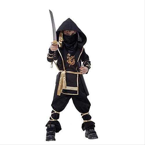 CHNWSJ Kostüm for Halloween-Kinder Ninja-Kostüme Halloween-Party-Jungen-Mädchen-Krieger Stealth Kinder Cosplay Assassinen-Kostüm (Size : S)