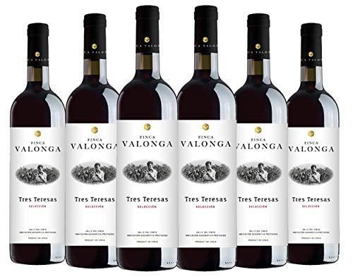 Vino Tinto Tres Teresas Valonga 2015. Variedades Garnacha/Tempranillo/Syrah