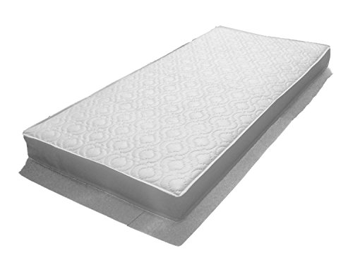 Katy 132 x 77 cm Superior Fully Bound with **Taped Edged** Spring Interior Mattress – 132x77 cm Fits The Boori Range Cot Beds Before 2015