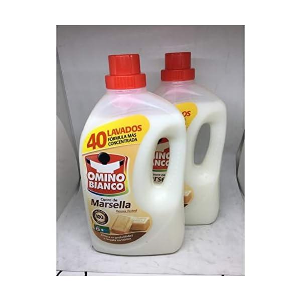 Omino Bianco Producto para el Lavado a Mano y de Prendas Delicadas, Marsella – 2000 ml