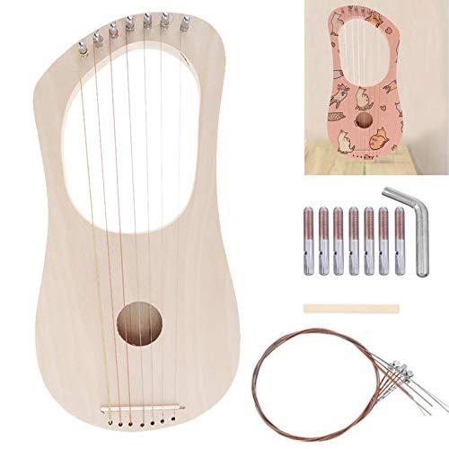 Lyre Harp - Kit de 7 cuerdas para manualidades, diseño de l