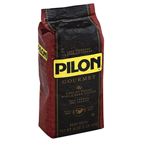 Pilon Whole Bean Restaurant Blend Espresso Coffee, 16 Ounce (Pack of 8)