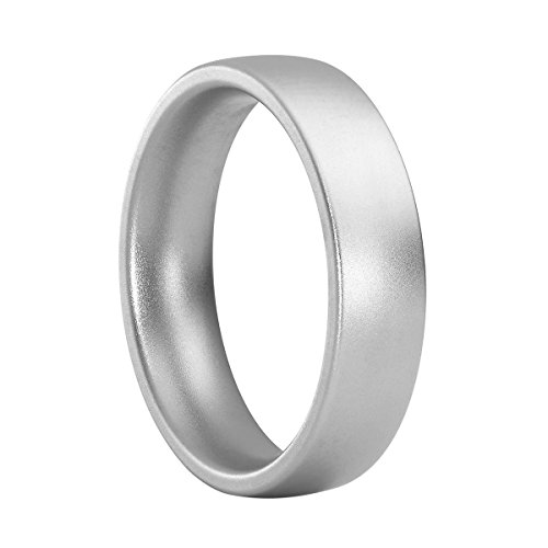 Heideman Ring Damen aus Edelstahl Silber farbend matt Damenring für Frauen mit Swarovski