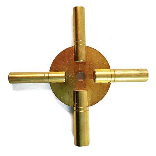 Messing Blessing Universal Messing Uhr-/Uhrenschlüssel, ODD Größen (5189)