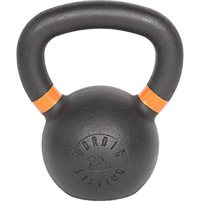 Nordic Lifting Kettlebell Made for Crossfit & Gym Workouts - Real Cast Iron for Strength Training 22 lb by Nordic Lifting