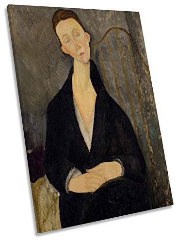 Amedeo Modigliani Lunia Czechowska - Lienzo decorativo, 30cm wide x 45cm high