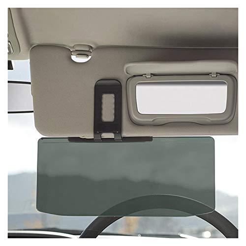 Fangaichen Adecuado para el Coche Universal Car Interior Driver Sun Visor Anti Dazz-Le Sombreado Espejo Auto Anti-Glare Clip-On Swield Solshades 11.8x5.9 Pulgadas