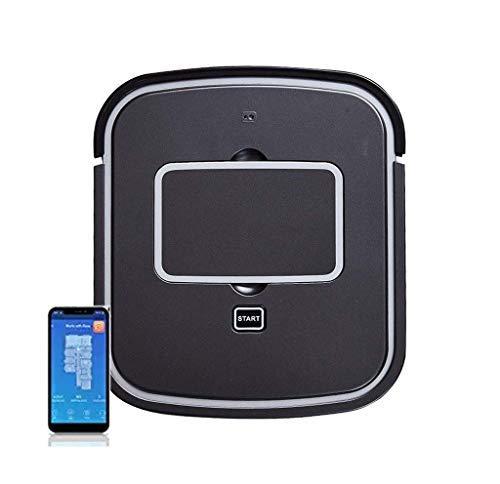 CHUTD Roboter-Staubsauger, 600 Pa leistungsstarke Absaugung, 250 ml große Staubbox, Bluetooth APP-Fernbedienungsfunktion/USB-Aufladung/Antikollision, gut für Tierhaare, Harte Böden und Teppich