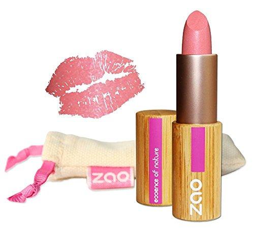 ZAO Pearly Lipstick 402 pink rosa schimmernder Lippenstift mit Perlglanz, in nachfüllbarer...