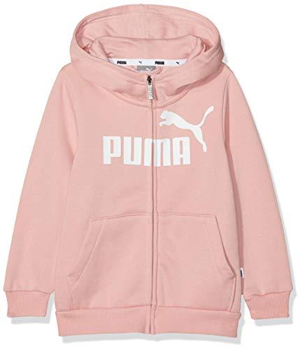 Puma 851760 Giacca Tuta, Bambina, Bridal Rose, 116