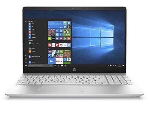 HP Pavilion 15-ck018nl Notebook, Display da 15.6', Intel i7-8550U, 1.8 GHz, SATA da 1 TB e SSD da 128 GB, 16 GB di RAM, GeForce 940MX, Bianco [Layout Italiano]