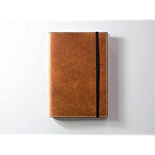 Leather Cover for Leuchtturm1917 Notebook, Leuchtturm1917 Leather Journal, Natural Leater Cover, Horween Leather Sketchbook, Personalized Leather ArtBook:Viralbuzz