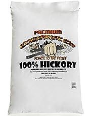 Cookinpellets CPH18 kg-Hickory-houtpellets, 18 kg, bruin