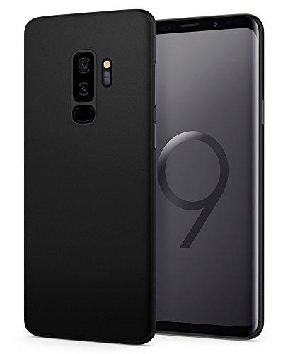 Spigen 593CS22954 Air Skin für Samsung Galaxy S9 Plus Hülle, Ultradünn Handyhülle Lichtdurchlässig Semi-Transparent Schutzhülle Case (Schwarz)