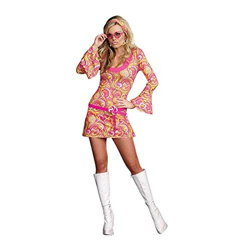 Dreamgirl Women's Go Go Gorgeous Costume, Multi, Medium
