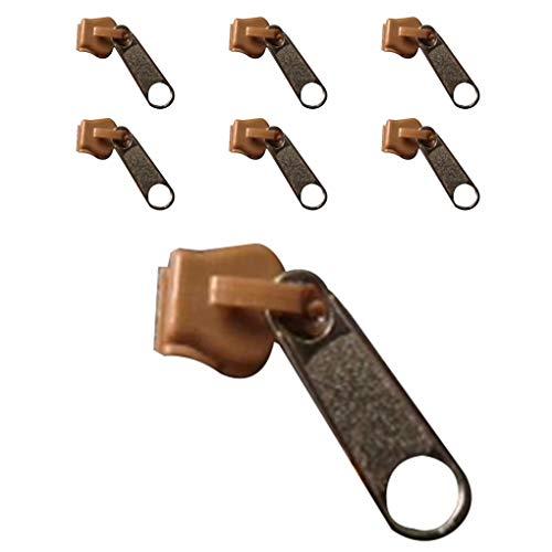 Pigupup 6pcs Universal Instant Fix Zipper Kit de reparaci/ón Reemplazo Zip Slider Dientes Zipper