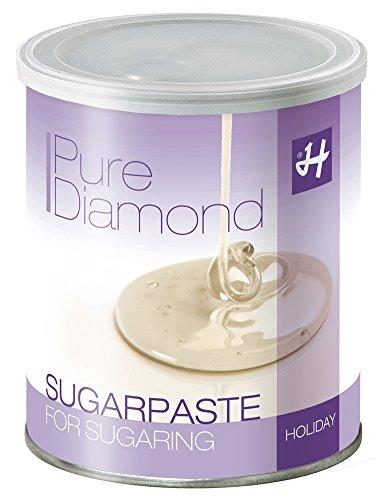 Zuckerpaste Pure Diamond Soft 1 kg Sugaring die effektive langfristige Haarentfernung ohne Vliesstreifen mit der Flicking Technik
