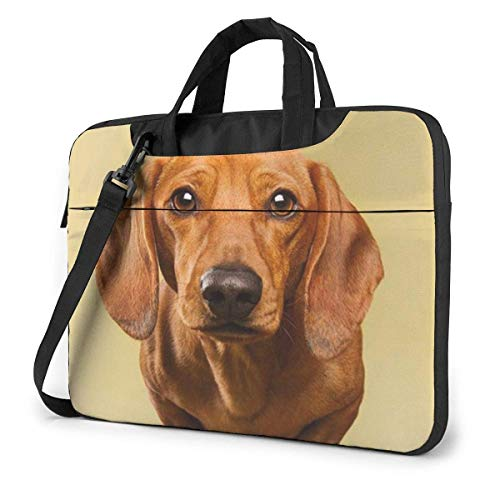 Laptop Tote Bag, Golden Retriever Stay On Sofa Durable Laptop Travel Bag with Handle Fits 13-15.6in Laptop for Women