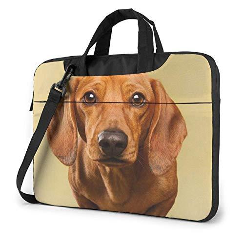 Laptop-Einkaufstasche, Golden Retriever Stay On Sofa Robuste Laptop-Reisetasche mit Griff für 13-15.6-Zoll-Laptop für Frauen