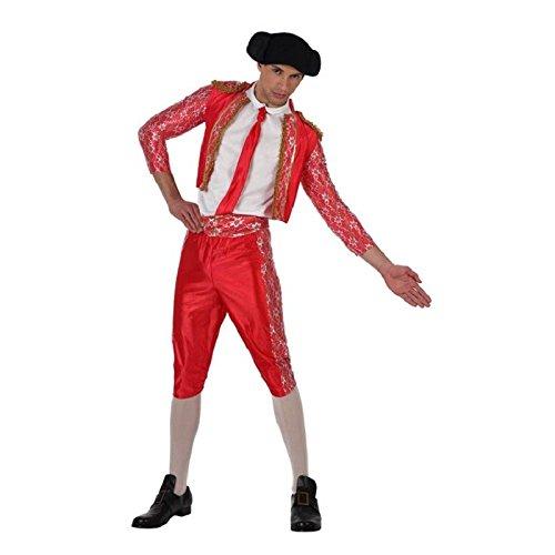 Atosa-19789 Disfraz Torero, color rojo, M-L (19789)
