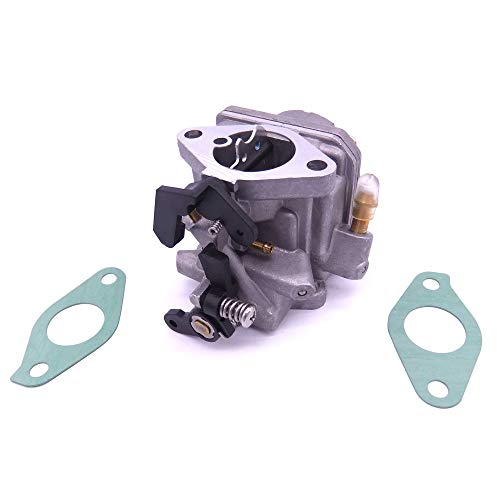 Boat Engine 3303-8M0053668 8M0053669 804766T03 804766A04 804766A05 803522T1 803522T2 Carburetor Assy and 27-803508013 Carburetor Gasket for Mercury Mariner 4-Stroke 6HP Outboard Motor