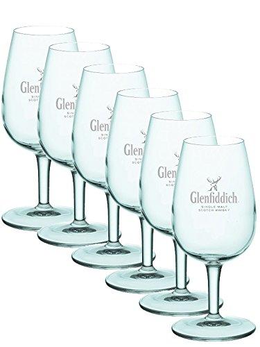 Glenfiddich Gläser ohne Eichstrich 6 Stück