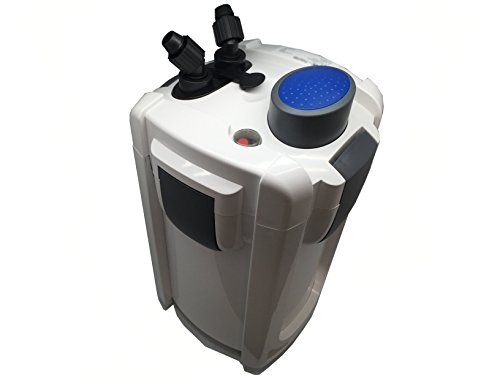 Sunsun HW-703B 370 GPH 4-Stage External Canister Filter with 9W UV Sterilizer