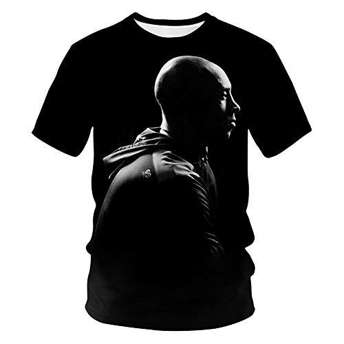 Herren Trikot Lakers Kobe 1996-2016 Retired Gedenk T-Shirt Kobe 24 Basketball Kurzarm Trikots (Size : S-5XL),G,S