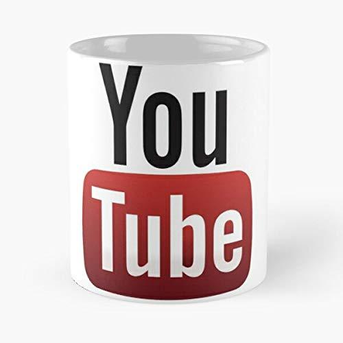 Lapuan Kankurit Logo Humor Tube Youtube White Black You Red The Best 11oz White Coffee Mugs Made from Ceramic La Mejor Taza de café de cerámica de mármol Blanco de 11 oz
