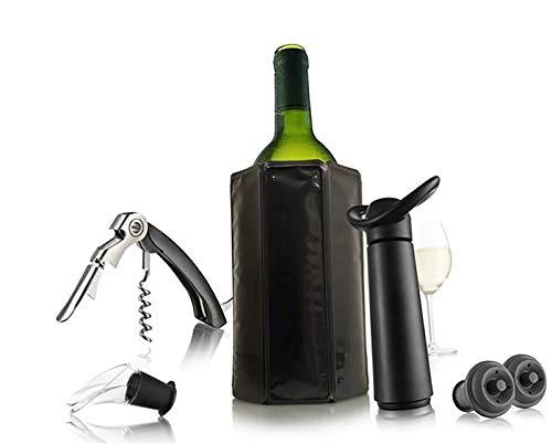 Accessoires De Vin - Coffret Wine Essentials Black Edition