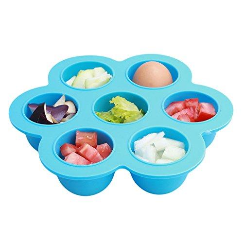 Lalang Récipient Pour Repas Bébé Mushy Congélation Récipient Nourriture Bébé en silicone