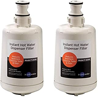 InSinkErator F-201R Replacement Water Filter Cartridges, 2-Pack (B000GQTCCA) | Amazon price tracker / tracking, Amazon price history charts, Amazon price watches, Amazon price drop alerts
