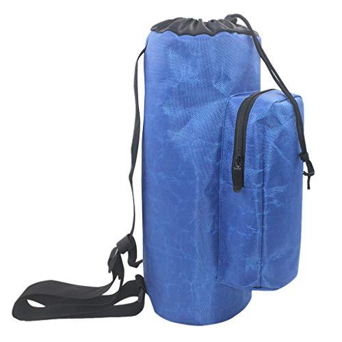 Hellery wasserdichte Sauerstoffflasche Tragetasche Blau Rucksack Gepolsterte Medical Travel