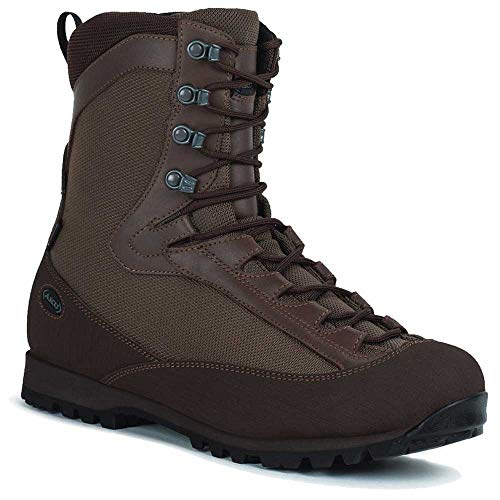 AKU Pilgrim HL GTX Combat, Chaussure Bateau Mixte, Marron, 43 EU