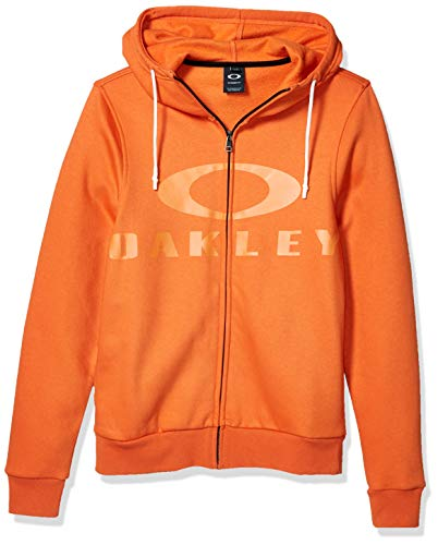 Oakley Herren Full Zip Sweatshirt Kapuzenpulli, Energy Orange, XX-Large