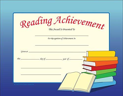 Reading Achievement Recognition Certificates
