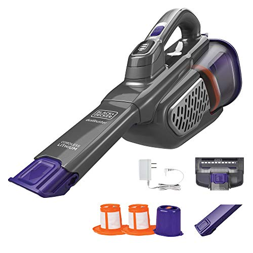 beyond by BLACK+DECKER 20V MAX Handheld Vacuum for Pets, Advanced Clean (HHVK515JP07APB) , Gray