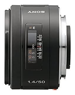 Sony SAL50F14 - Objetivo para Sony (Distancia Focal Fija 50mm, Apertura f/1.4-22, diámetro: 55mm) Negro (B000GSVQY0)   Amazon price tracker / tracking, Amazon price history charts, Amazon price watches, Amazon price drop alerts