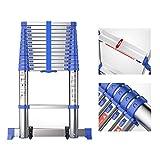 Aluminium Telescopic Ladder & Loft Extension Ladder - Extra Tall Protable Folding Ladders