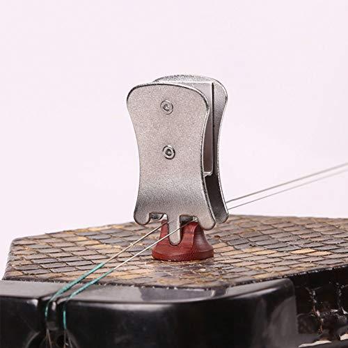 Sxgyubt Professioneller Erhu Schalldämpfer Schmetterling Clip Schalldämpfer Urheen National Musikinstrument Zubehör Einheitsgröße silber