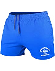 Heren Bodybuilding Sportschool Training Shorts Sport Fitness Badstof katoen Korte broeken