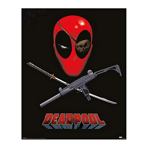 Pyramid Deadpool (Eye Patch) Mini Poster (Poster) Merchandising Ufficiale