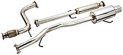 Spec-D Tuning MFCAT2-ACD94 Honda Accord Ex Dx Lx 2 4 Door Full Cat Back Exhaust System