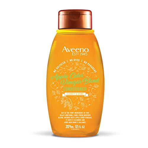 Price comparison product image Aveeno Scalp Soothing Apple Cider Vinegar Blend Conditioner,  12 Ounce