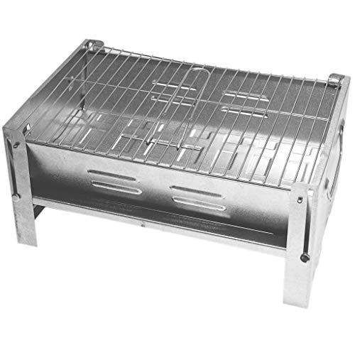 DeltaSat MobiGrill - Barbacoa de carbón vegetal para camping, plegable, ideal para picnic, camping, jardín, barbacoa, fiesta al aire libre