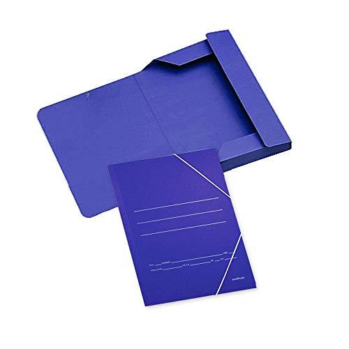 Carpetas Carton con Gomas A4 Marca Starplast
