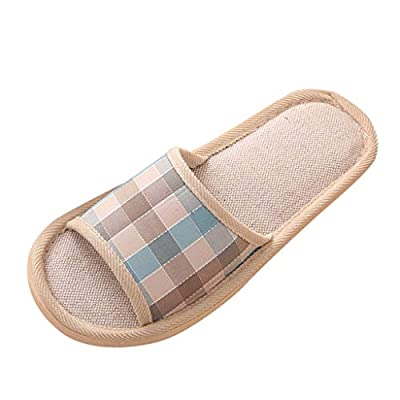 ERIUAES House Slippers,Women's and Men'...