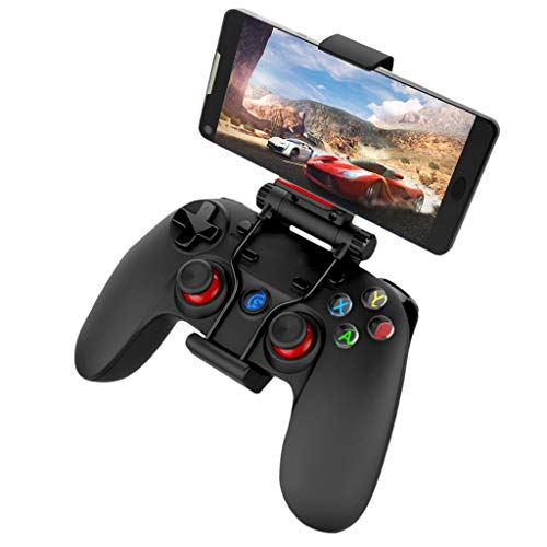 DFRgj Manette de Jeu sans Fil Bluetooth Gamepad pour Android + Poignée de Refroidissement pour téléphone Mobile Windows