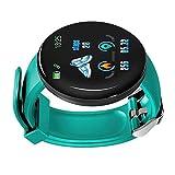 B Baosity Deportivo Reloj Inteligente Smartwatch Pulsera Actividad para Mujer Hombre Niños - Verde