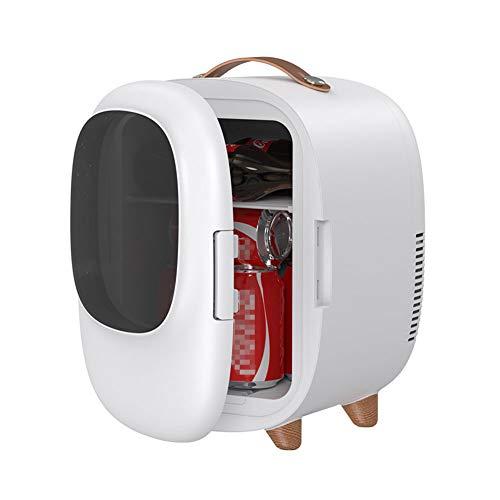 Auto Koelkasten, 8L Silent Draagbare Auto Huis Dual-Use Small Mini Koelkast Met Cooling En Verwarmende Functie, Geschikt Voor Lounge Car Bedroom Dining Room